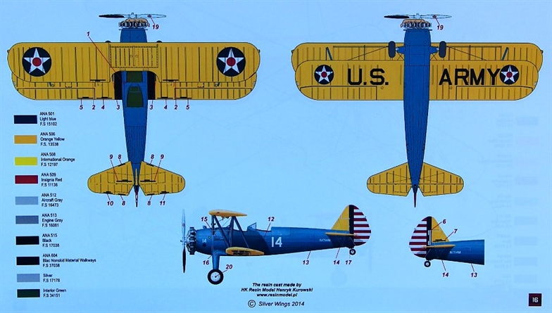 1/32 Boeing Stearman PT-13D/N2S-2 (resin kit)