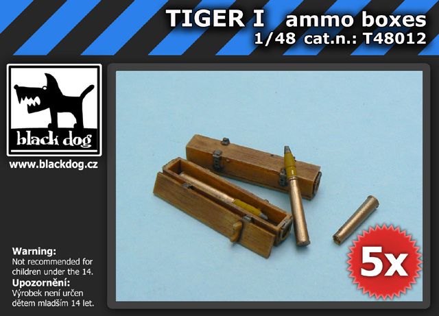 1/48 TIGER I ammo boxes