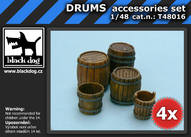 1/48 DRUMS accessories set
