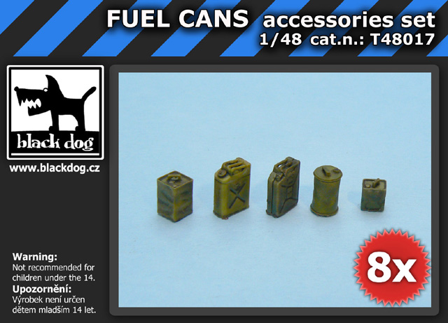 1/48 FUEL CANS accessories set