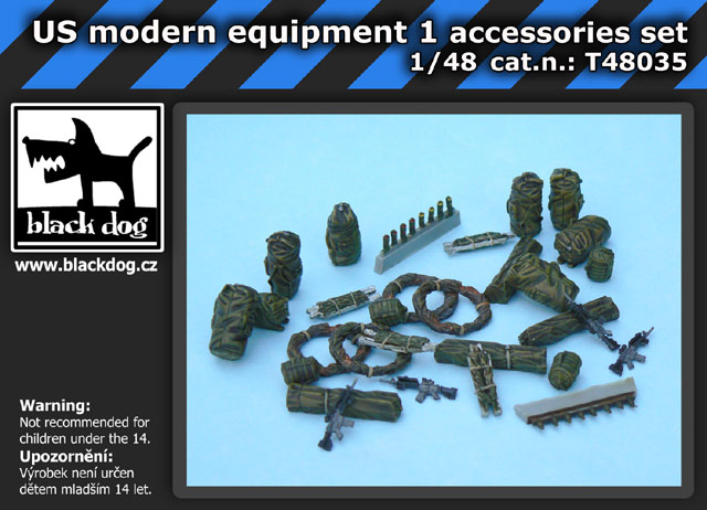 1/48 US modern equipment 1 accessories set