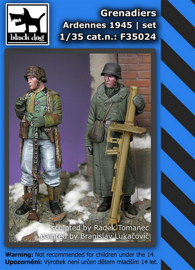 1/35 Grenadiers Ardennes 1945 (set of 2 figures)