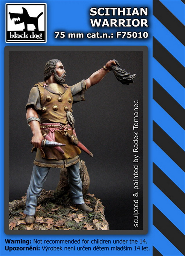 75mm Scithian warrior