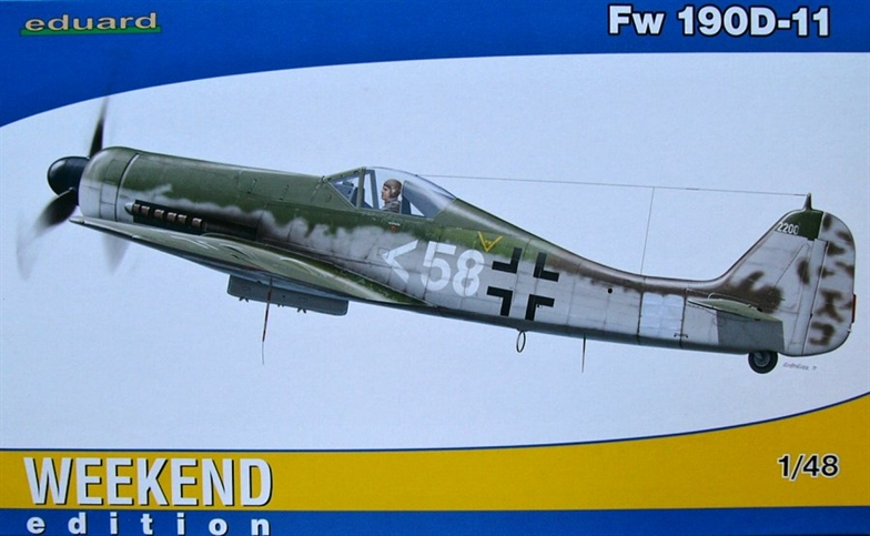 1/48 Fw 190D-11 (Weekend Edition)