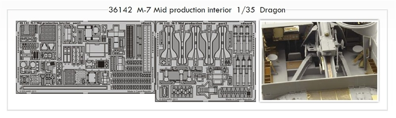 1/35 M-7 Mid production interior (DRAG)