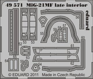 1/48 MiG-21MF late interior S.A. (EDU)