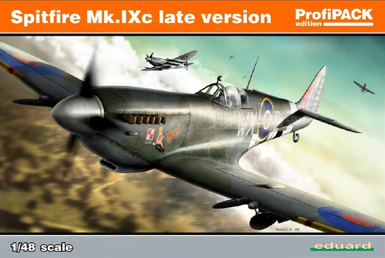 1/48 Spitfire Mk.IXc late version (PROFIPACK)