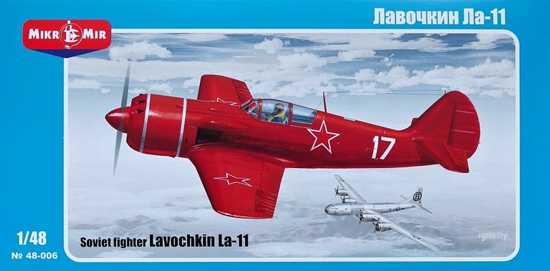 1/48 Lavochkin La-11 Soviet fighter