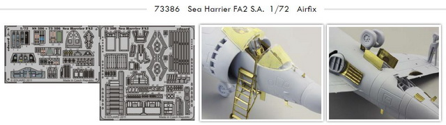 1/72 Sea Harrier FA2 S.A. Airfix