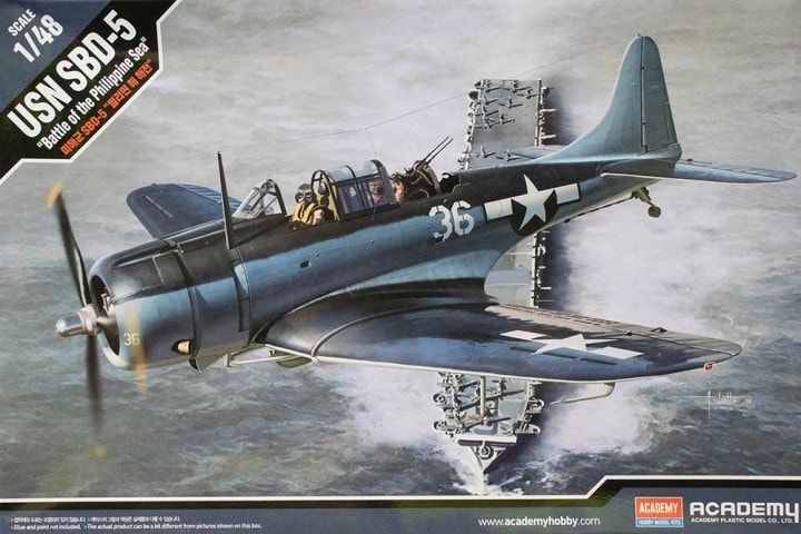 1/48 Douglas SBD-5 Dauntless Battle of the Philippine Sea