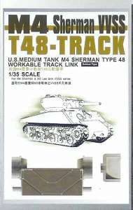 1/35 M4 Sherman VVSS T48 Workable Track