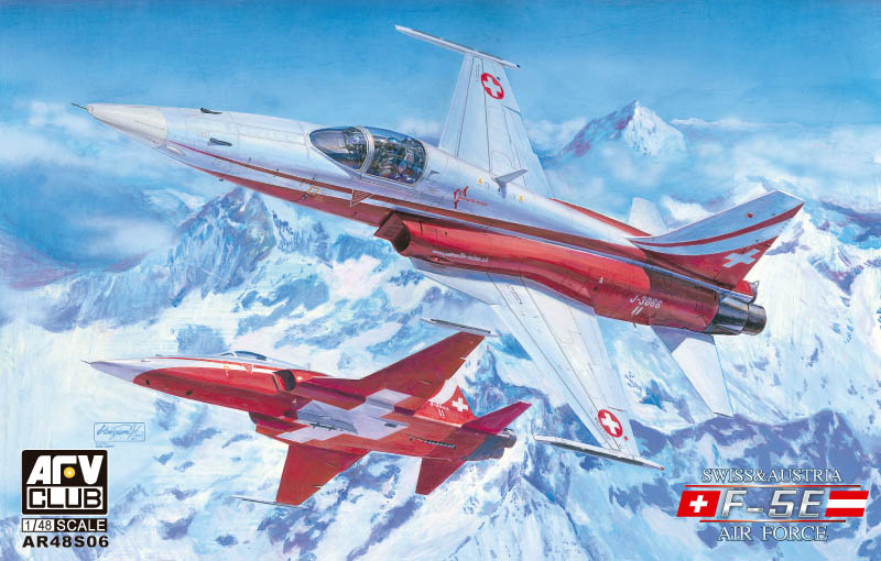1/48 F-5E Swiss/Austria Air Force