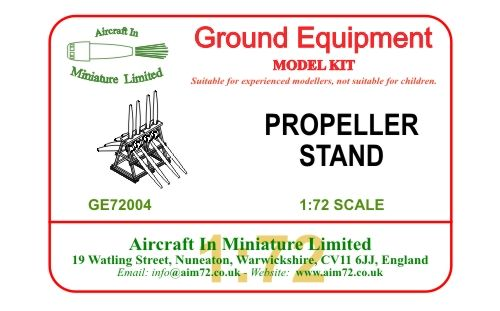 1/72 Propeller stand