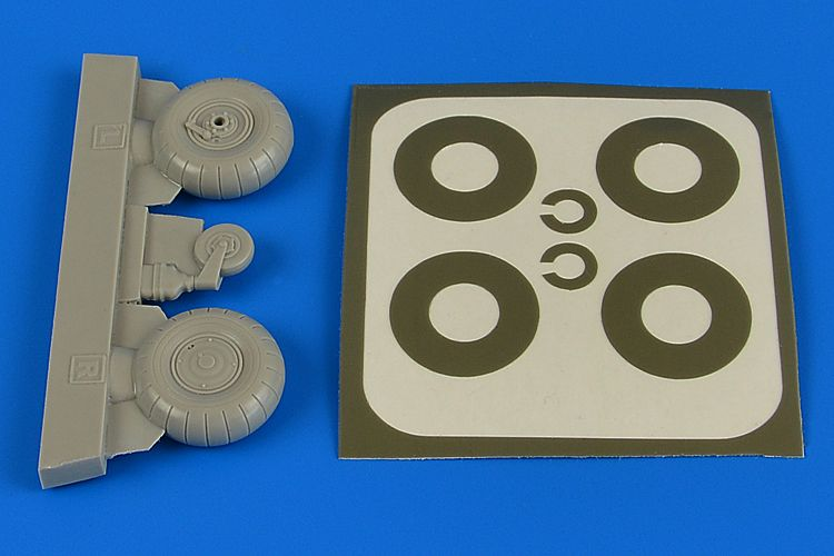 1/32 Bu-131A/Bu-131D wheels & paint masks transverse tread cover