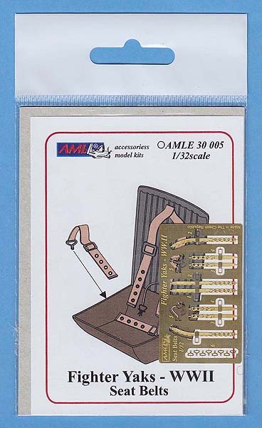1/32 Yaks Fighter WWII Seat Belts