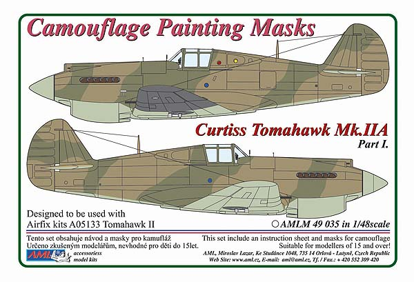 1/48 Curtiss Tomahawk Mk.IIB / Part I