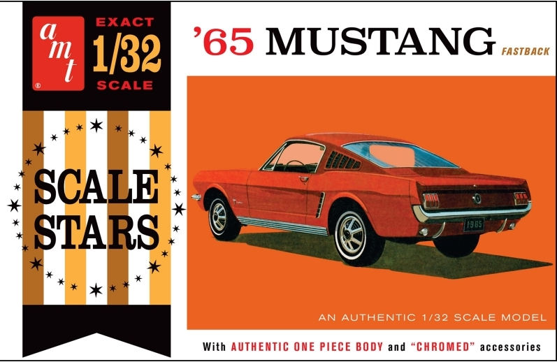 1/25 1965 Ford Mustang Fastback