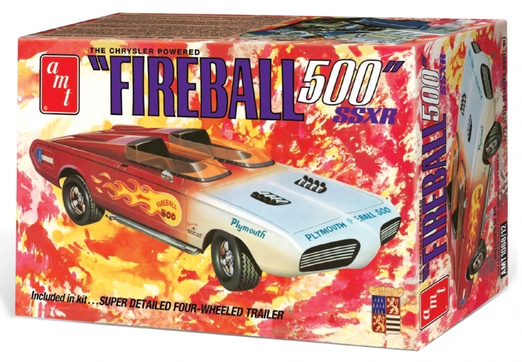 1/25 1:25 George Barris Fireball 500 with Commemorative Packagin