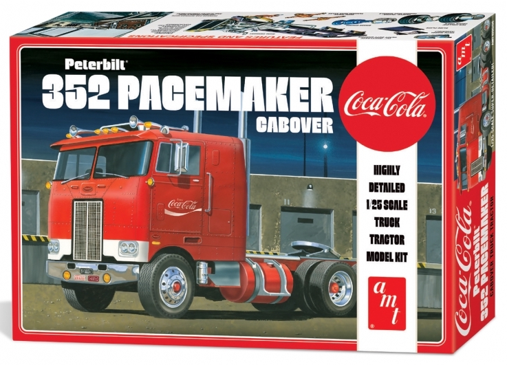 1/25 Peterbilt 352 Pacemaker Cabover Coca Cola