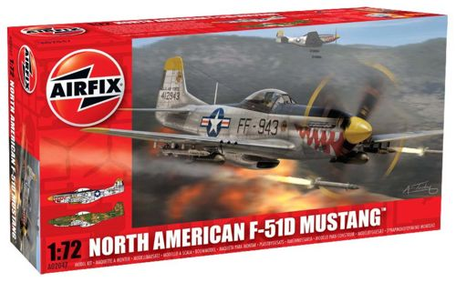 1/72 North-American F-51 Mustang (P-51D)