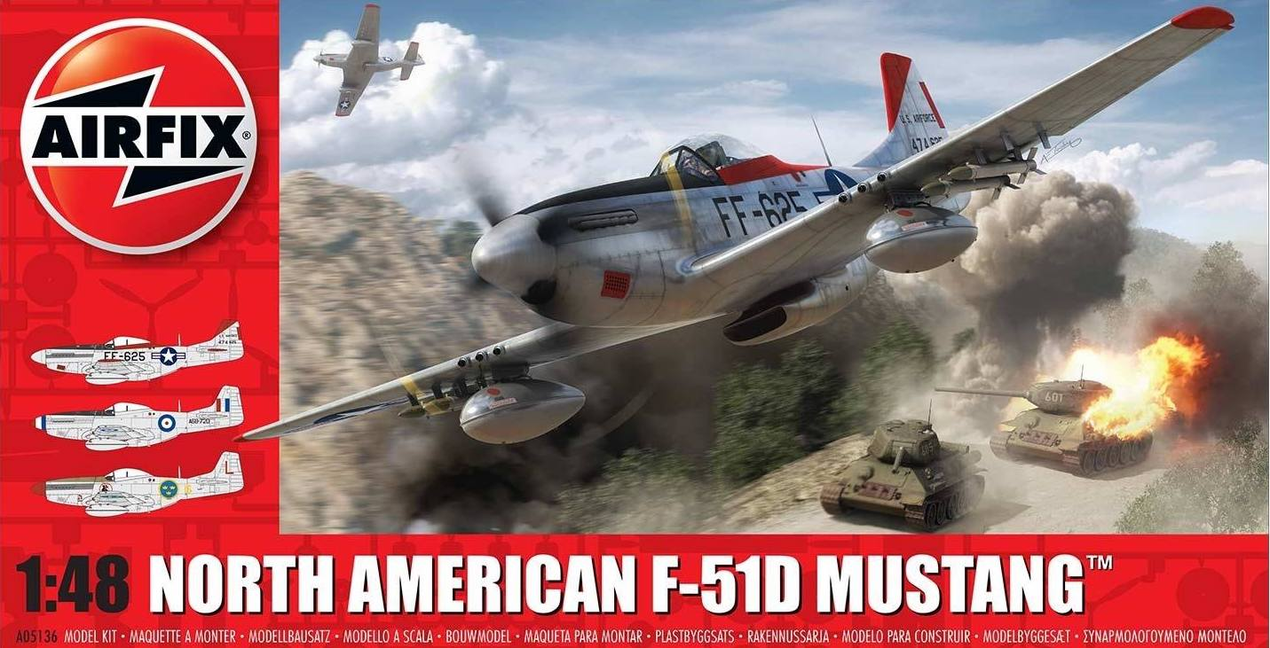 1/48 North-American F-51D Mustang