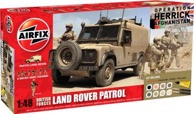 1/48 British Forces Land Rover Patrol