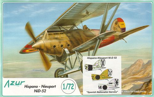 1/72 Hispano-Nieuport NiD-52 Spanish Nationalist Service