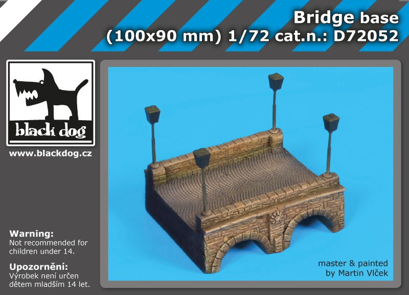 1/72 Bridge base