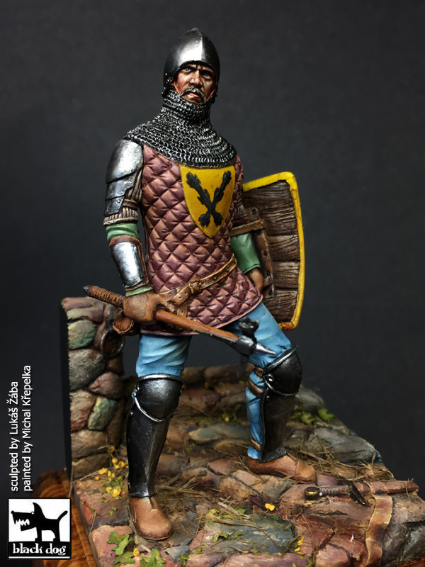 75mm Medieval Knight 15th Century