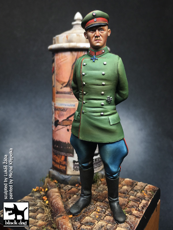 75 mm German army Captain