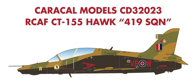 1/32 Royal Canadian Air Force CT-155 Hawk 419 Squadron