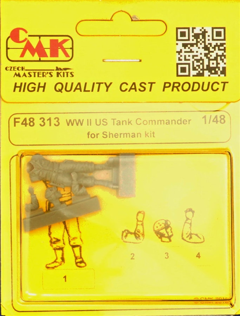 1/48 US Tank Commander WWII for Sherman