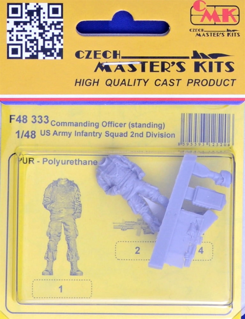 1/48 US Army Infantry Commanding Office