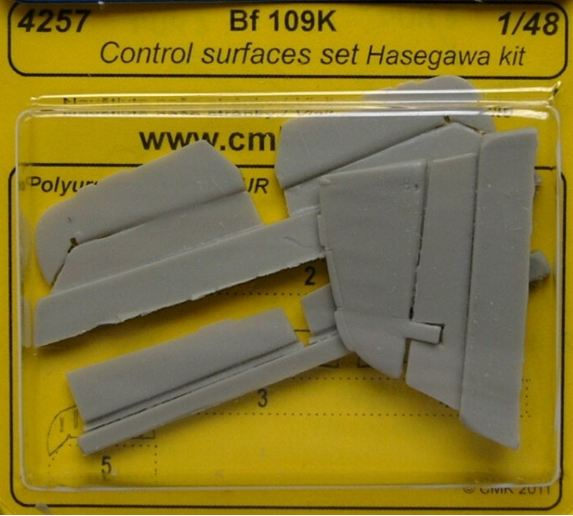 1/48 Bf 109K Control surfaces set (HAS)