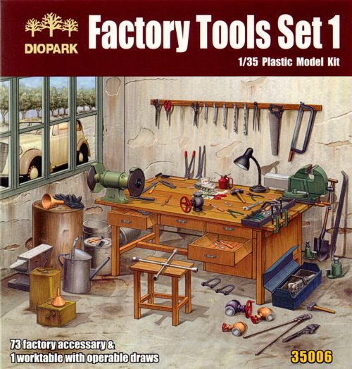 1/35 Factory Tools Set 1
