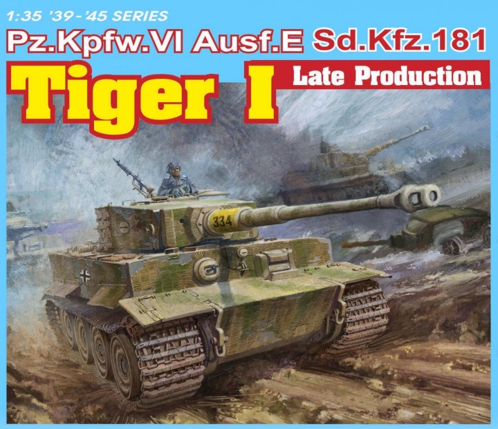 Pz.Kpfw. VI Tiger I Ausf. E Sd.Kfz. 181 late production (3 in 1)