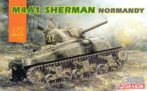 1/72 M4A1 Sherman in Normandy
