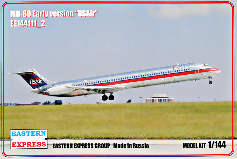 1/144 McDonnell-Douglas MD-80 Early version USAir