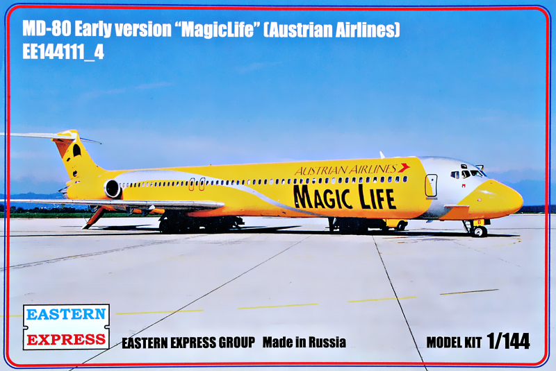1/144 McDonnell-Douglas MD-80 Early version MagicLife