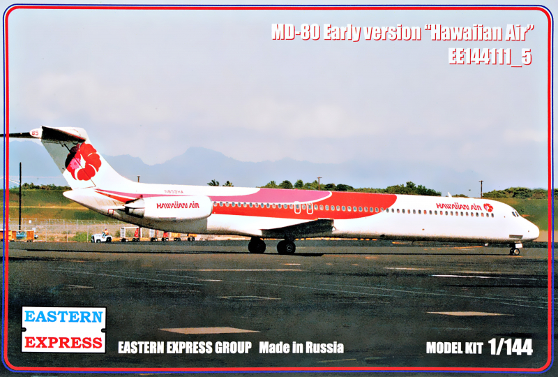 1/144 McDonnell-Douglas MD-80 Early version HawaIIan Air