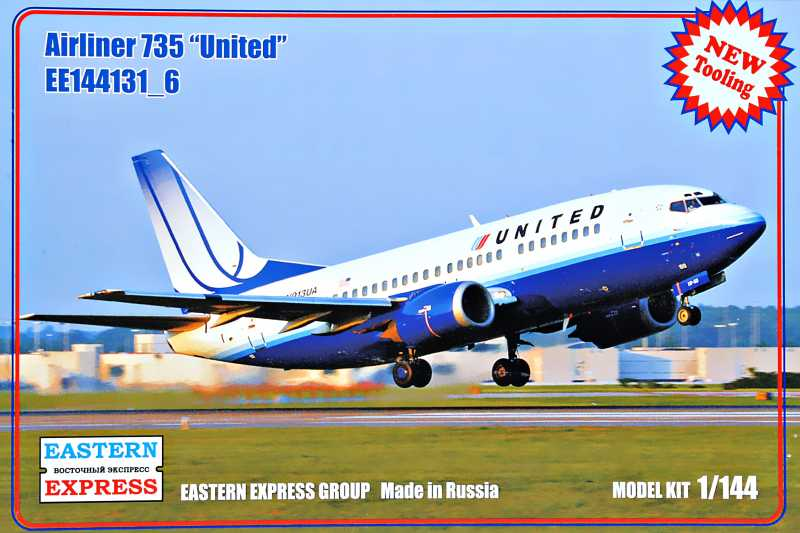 1/144 Airliner 735 United