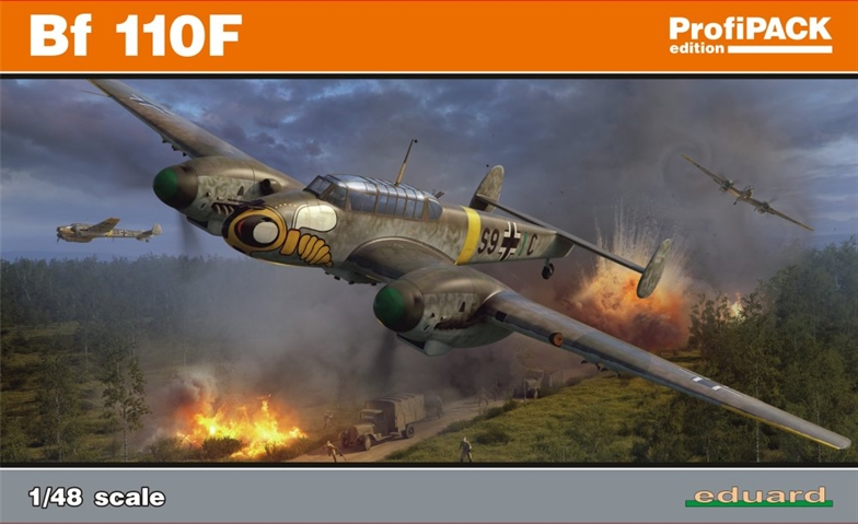 1/48 Bf 110F Profipack