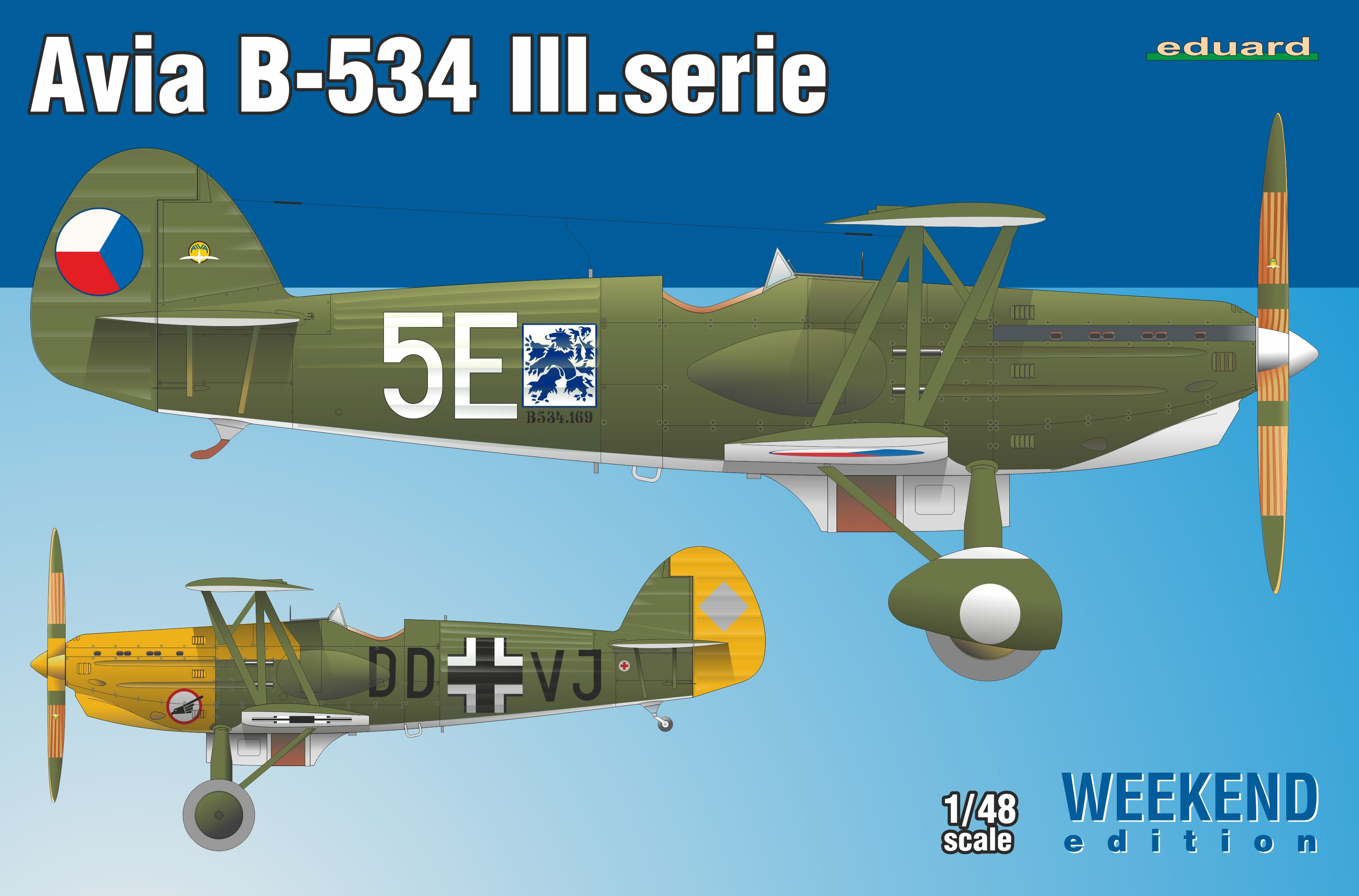 1/48 Avia B-534/III serie 1/48 Weekend edition