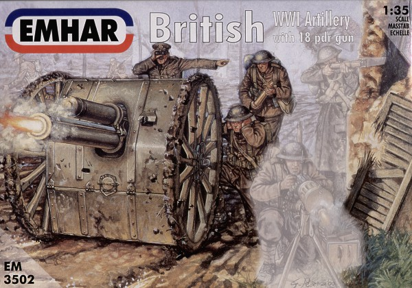 1/35 WWI British Artillery