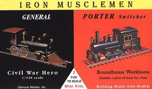 1/120 General and Porter Switcher 1:120 2 famous Iron Horses