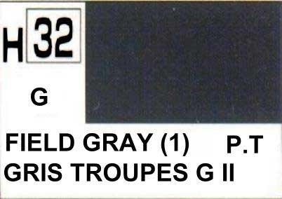 H032 Field Gray / Gris troupes allemandes (G)
