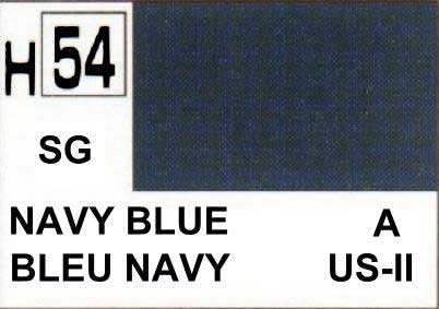 H054 Navy blue - Bleu Navy (SG)