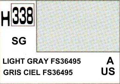 H338 Light gray - Gris clair FS36495