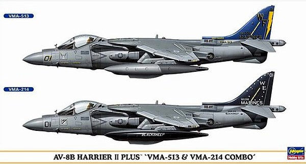 1/72 AV-8B Harrier II Plus Combo
