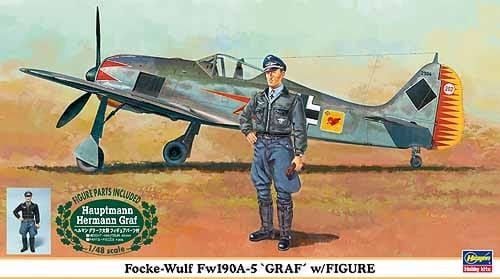1/48 Focke-Wulf Fw190A-5 with Graf Figure